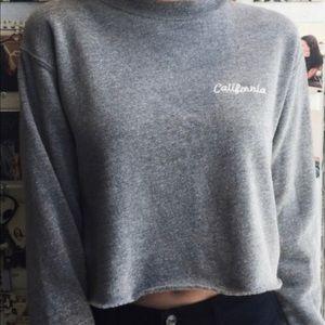 John Galt California Cropped Sweater